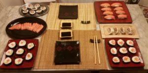 ricetta per fare il sushi